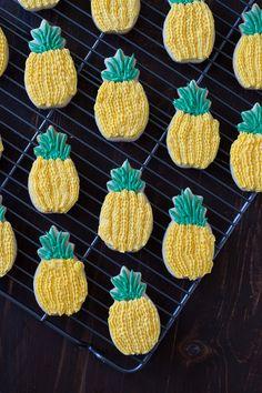 noms | pineapple sugar cookies
