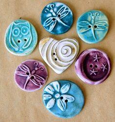 ceramics pottery buttons - Cerca con Google
