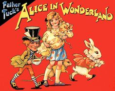 Father Tuck's Alice in Wonderland illustrated by Ada Bowley