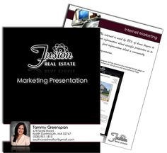 Marketing Presentation And Report  Marketing Presentations  Real