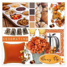 """""""Group Contest """"Cozy Up""""  Fall Decorating"""" by calamity-jane-always ❤ liked on Polyvore featuring interior, interiors, interior design, home, home decor, interior decorating, Andrew Martin, Howard Elliott, Orrefors and National Tree Company"""