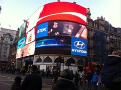 Why of course, Piccadilly Circus