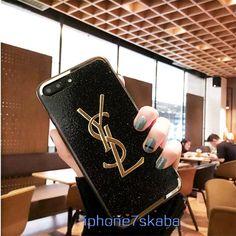 iphone8 イブサンローラン ケース iphoneX アイフォン6 シリコン製