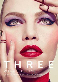 Three Cosmetics F/W 2016 (Various Campaigns)