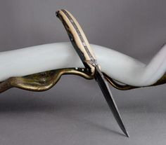 Laguiole Philippe Voissiere - Damask / Mammoth Ivory