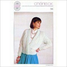 Ladies Sweater jumper double knitting pattern womens DK Water Wheel patterns 745 on eBid United Kingdom