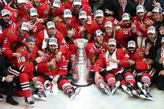 Chicago Blackhawks 2015 Stanley Cup Champions!