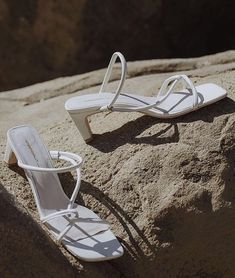 White sandals that I like White Sandals, Strappy Sandals, Women Sandals, Shoes Women, Ladies Shoes, Boat Shoes, Shoes Heels, Pumps, Fashion Shoes