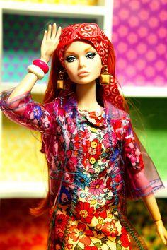 ◉◡◉ Fashion Royalty Dolls, Fashion Dolls, Poppy Doll, That Poppy, Alexander Mcqueen, Poppy Parker, Barbie Friends, Barbie World, Vintage Barbie