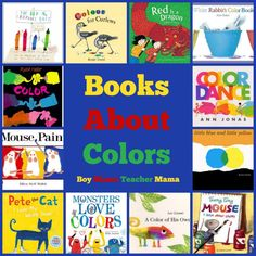 Book Mama: Books about Colors - Boy Mama Teacher Mama Kindergarten Colors, Preschool Colors, Teaching Colors, Kindergarten Literacy, Art Books For Kids, Childrens Books, Color Activities, Baby Activities, Art Classroom