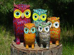 Owls Sculpture