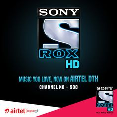 To all the music lovers - Sony ROX HD is now playing on Airtel DTH channel number 500. So go enjoy music on India's True-Blue HD channel! #fashion #style #stylish #love #me #cute #photooftheday #nails #hair #beauty #beautiful #design #model #dress #shoes #heels #styles #outfit #purse #jewelry #shopping #glam #cheerfriends #bestfriends #cheer #friends #indianapolis #cheerleader #allstarcheer #cheercomp  #sale #shop #onlineshopping #dance #cheers #cheerislife #beautyproducts #hairgoals #pink…