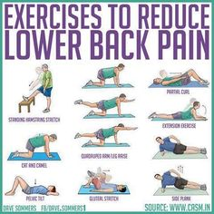 Bad Back Exercises Exercises for bad back | Self-Care