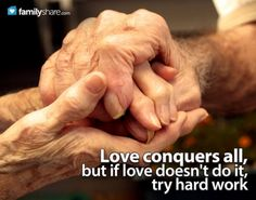 Hard Times Can Make or Break a Marriage, But They Can Also Strengthen It. Here Are a Few Ideas to Keep Your Marriage Relationship Strong When Facing Financial or Heartbreaking Challenges. Elderly Couples, Old Couples, Old Married Couple, Married Couples, Marriage And Family, Marriage Relationship, Relationships, Grow Old With Me, Couple Holding Hands