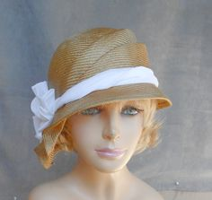 These sculpted hats Luminata makes are so pretty.