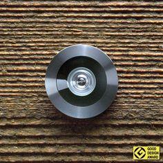 Türspion SPY mit Präzisions-Glasoptik, Sichtwinkel 200° Auszeichnung:   good design award. Für Türstärke 35-57 mm, Türbohrung 14mm. Einbauhöhe nach DIN 68706-1 = 1400 mm