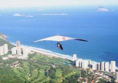Hang-gliding in Rio