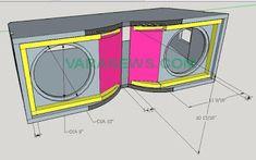 Skema Box Line Array Nexo 10 inch Subwoofer Box Design, Speaker Box Design, Woofer Speaker, Car Audio Installation, Speaker Plans, Diy Speakers, Diy Box, Loudspeaker, Line