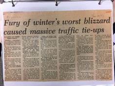 Search Results for the blizzard of 77 Local History, Search, Searching