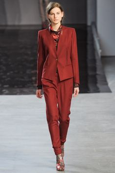 See the complete Helmut Lang Fall 2012 Ready-to-Wear collection.