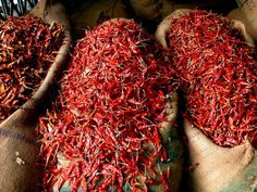 india/delhi red hot peppers