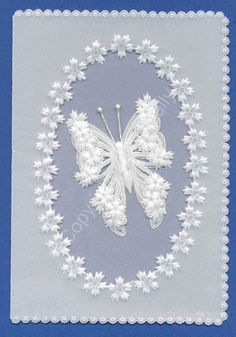 Butterfly Pattern | white-butterfly2 | Art of Parchment Craft