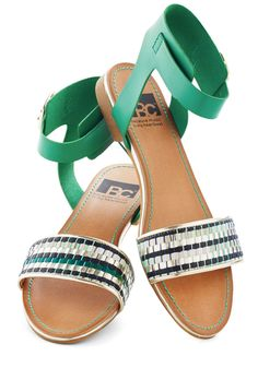 BC Shoes Inspired By the Sea Sandal | Mod Retro Vintage Sandals | ModCloth.com