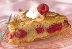 Sukkerfri hindbærtærte
