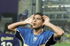 Juan Roman Riquelme - Boca Juniors Martin Palermo, Indoor Soccer, Football Players, The Beatles, Rock And Roll, First Love, Romance, In This Moment, Respect