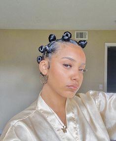Bantu Knot Hairstyles, Baddie Hairstyles, Black Women Hairstyles, Kid Hairstyles, Protective Hairstyles, Bantu Knots Short Hair, Black Girl Natural Hairstyles, Protective Braids, Braided Ponytail
