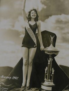 The First Miss Texas -Patricia Allen Green, Corpus Christi - Miss Texas was founded in 1936 as a scholarship contest for young women