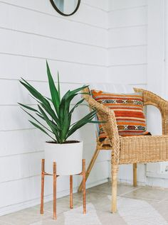 Copper and Concrete Planter | Modern Plant Stand | Planter | Cement Pot | Indoor Plant Stand | Home Decor | Plant Stand | House Plants