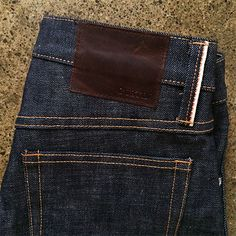 Okayama Standard   Japanese Selvedge Denim Jeans