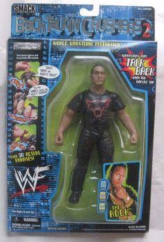 WWF The Rock Figure (2000) - Exact one I had.