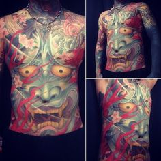 Beautiful hannya by @gen_biscuit  #japanesetattoos #japanesetattoo#japaneseart#japanese#japaneseculture#irezumi#horimono#tattooartist#tattooer#art#artist#tattoo#tattoos#tattooart#入墨 #Padgram