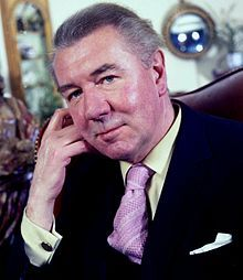 Sir Michael Redgrave portrait. Actor, director, manager and author. B: March 20, 1908-D: March 21, 1985.