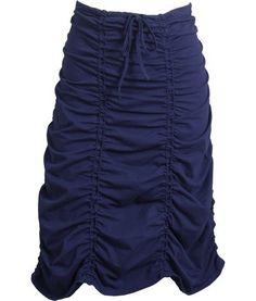 want. #sewing #diy #skirt #blue