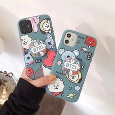 Cute 3D round handle bracket TPU soft cover for iphone 11Pro MAX XS XR – elegantonlinemarket