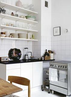 cocina con estantes - Buscar con Google