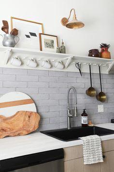 MY DIY | Shaker Peg Rail & Shelf Tutorial