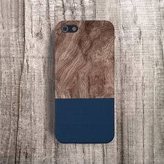 NAVY iPhone 5 Case Wood Print iPhone5 Case Wood by casesbycsera, $19.99