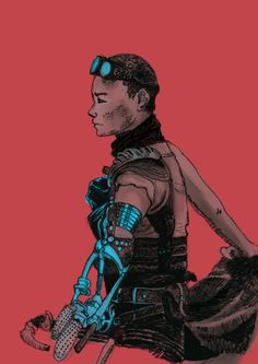 Imperator Furiosa - Mad Max: Fury Road - Bird Nerd Draws