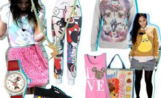 The comic/ cartoon prints are evermore! It's a must have! http://www.dothefashion.com/the-cartoon-prints-are-evermore-its-a-must-have/