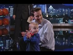 Jimmy Kimmel Takes on Two-Year-Old Trick Shot Titus PART 1