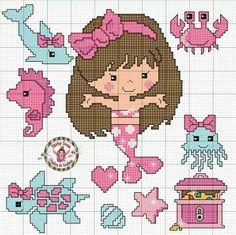 Cross Stitch For Kids, Mini Cross Stitch, Cross Stitch Cards, Cross Stitch Animals, Cross Stitching, Cross Stitch Embroidery, Embroidery Patterns, Cross Stitch Designs, Cross Stitch Patterns