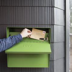 Locking Mailbox - Green | Schoolhouse