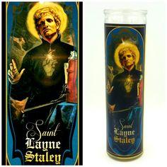 St. Layne Staley Prayer Candle