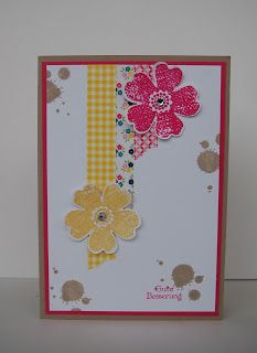 StampinUp! Washi Tape, Flower Shop, Georgeous Grunge, Kleine Wünsche