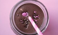 Mmm. chocolate-milkshake with a twist of mint