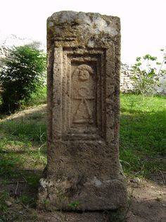 Goddess Tanit symbol in Carthage